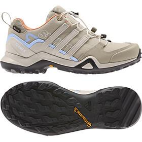 adidas TERREX Swift R2 GTX Outdoor Shoes Damen trace khaki/collegiate brown/glossy blue